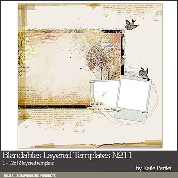 Blendables Layered Template 11