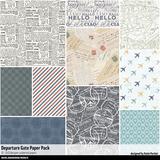 Departure Gate Paper Pack