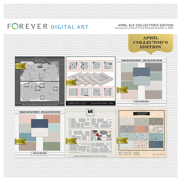 April SLF Collector's Edition Digital Art - Digital Scrapbooking Kits
