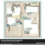 My Travel Journal Layered Template 04