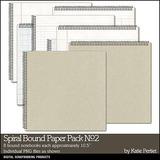 Spiral Bound Paper Pack 02