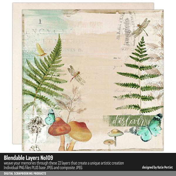 Blendable Layers 109 Digital Art - Digital Scrapbooking Kits