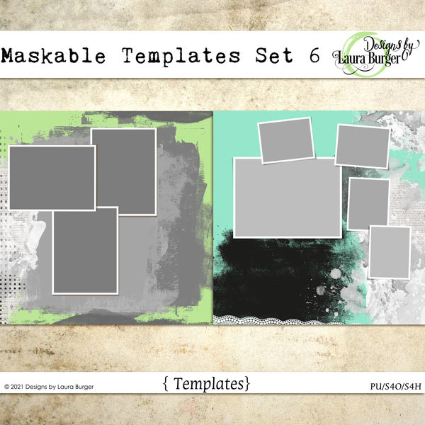 Maskable Templates Set 6