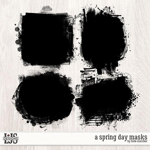 A Spring Day Masks