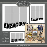 Anzac Day Templates
