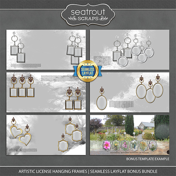 Artistic License Hanging Frames Seamless Layflat Bonus Bundle