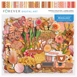 Perfect Palettes - Living Coral