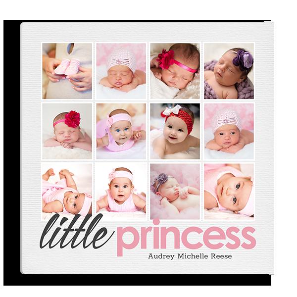 Little Princess Collage Panel Panel
