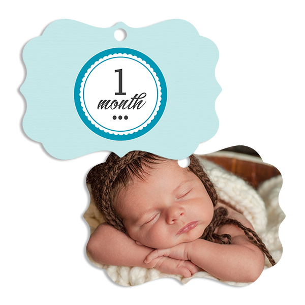 Little Prince 1 Month Ornament Ornament
