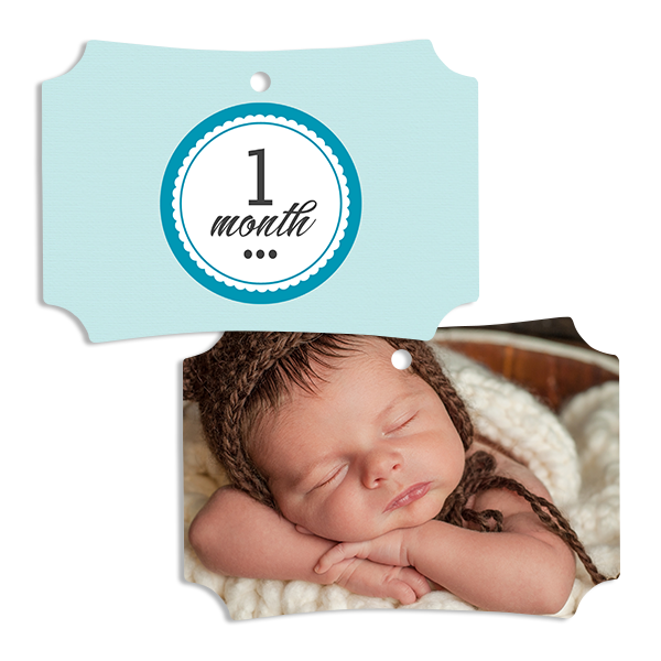 Little Prince 1 Month Ornament