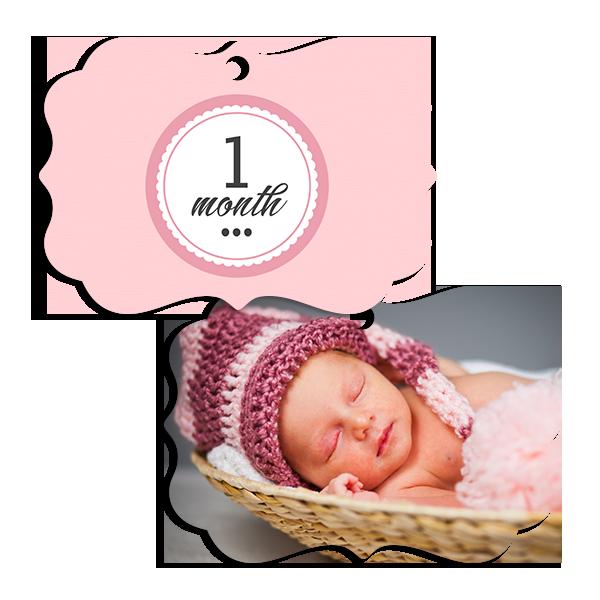Little Princess 1 Month Ornament Ornament