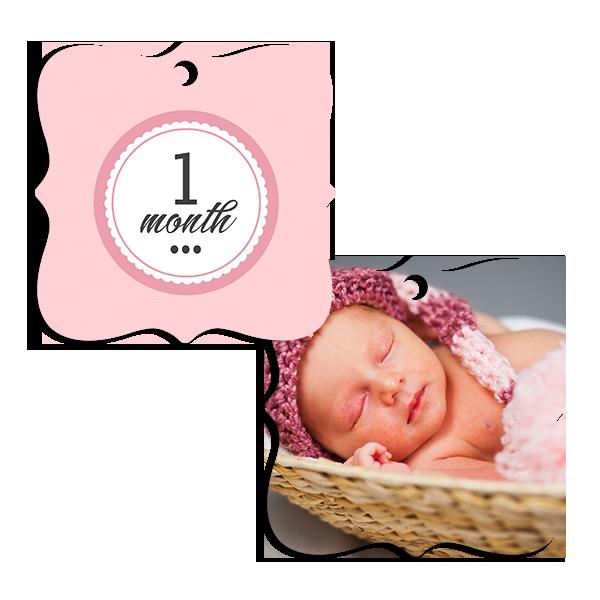 Little Princess 1 Month Ornament