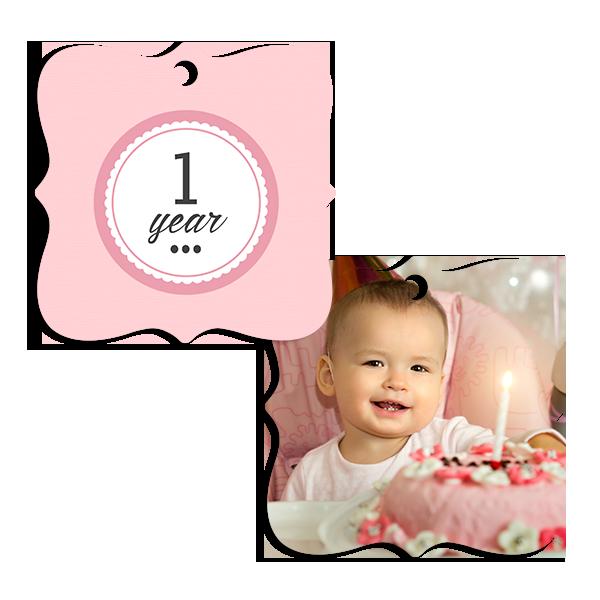 Little Princess 1 Year Ornament