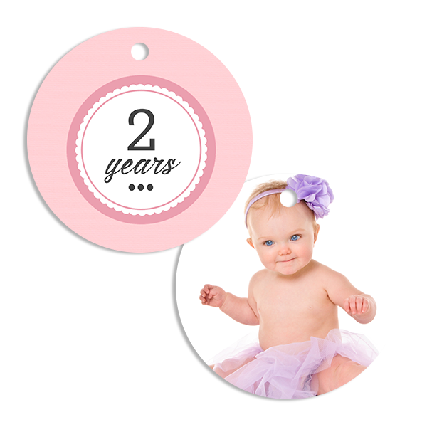 Little Princess Years Ornament
