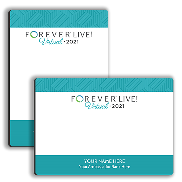FOREVER Live! Virtual Memo Tabletop Tabletop Panel