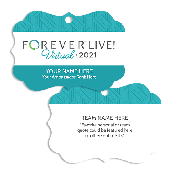 FOREVER Live! Virtual Ornament Ornament