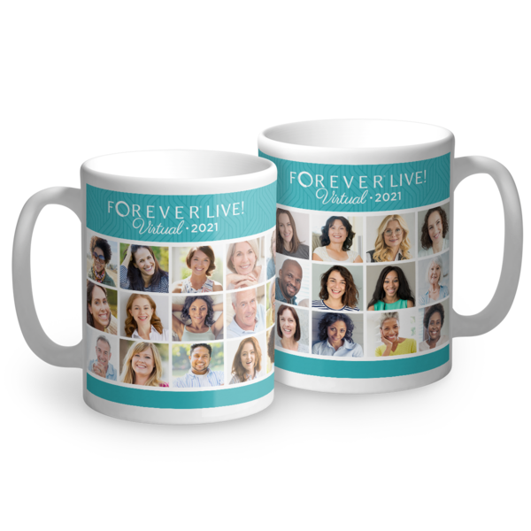FOREVER Live! Virtual with Friends Mug 2