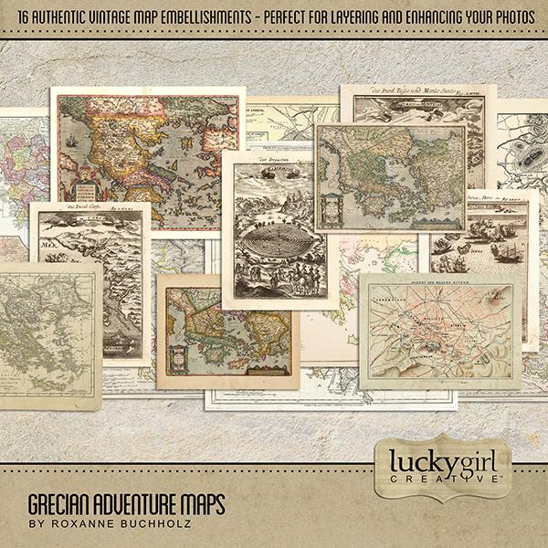 Grecian Adventure Maps