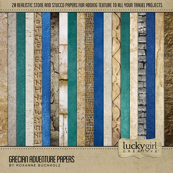 Grecian Adventure Papers