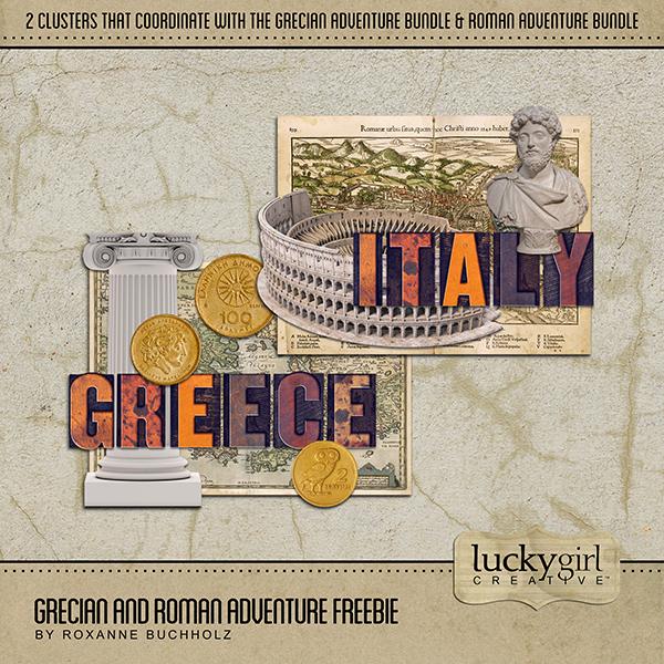 Grecian and Roman Adventure Freebie