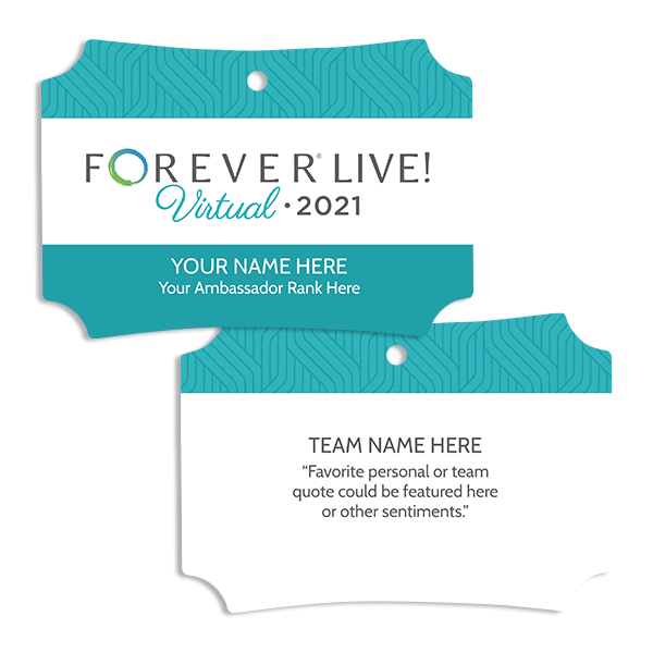 FOREVER Live! Virtual Ornament