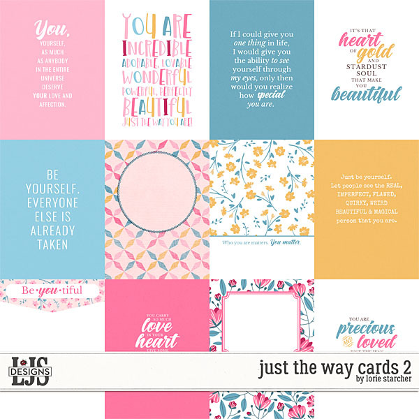 Just The Way Cards 2