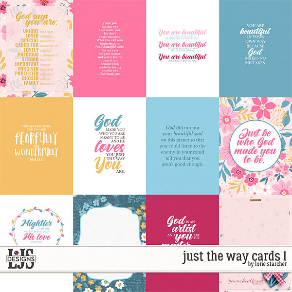 Just The Way Cards 1