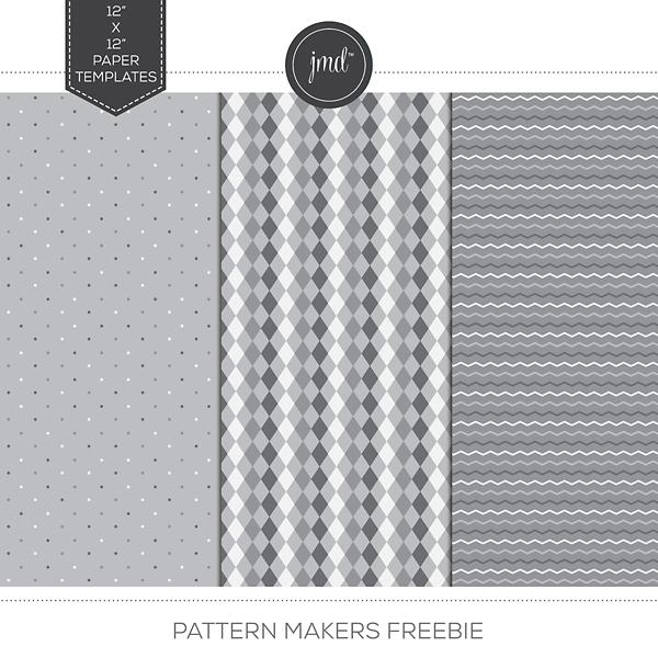 Pattern Makers Freebie Digital Art - Digital Scrapbooking Kits
