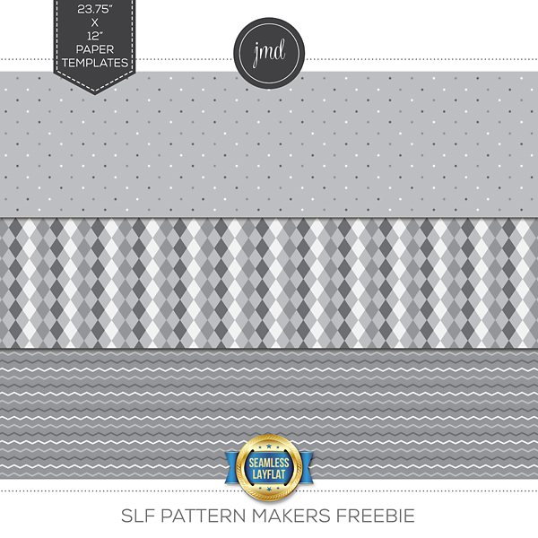 SLF Pattern Makers Freebie Digital Art - Digital Scrapbooking Kits