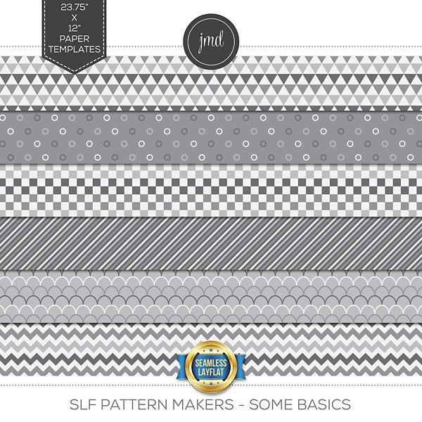SLF Pattern Makers - Some Basics Digital Art - Digital Scrapbooking Kits