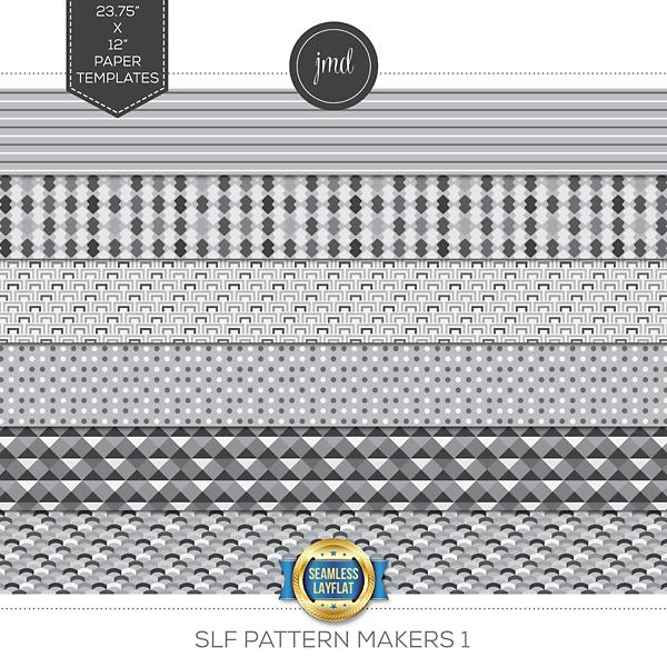 SLF Pattern Makers 1 Digital Art - Digital Scrapbooking Kits