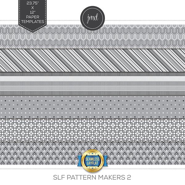 SLF Pattern Makers 2 Digital Art - Digital Scrapbooking Kits