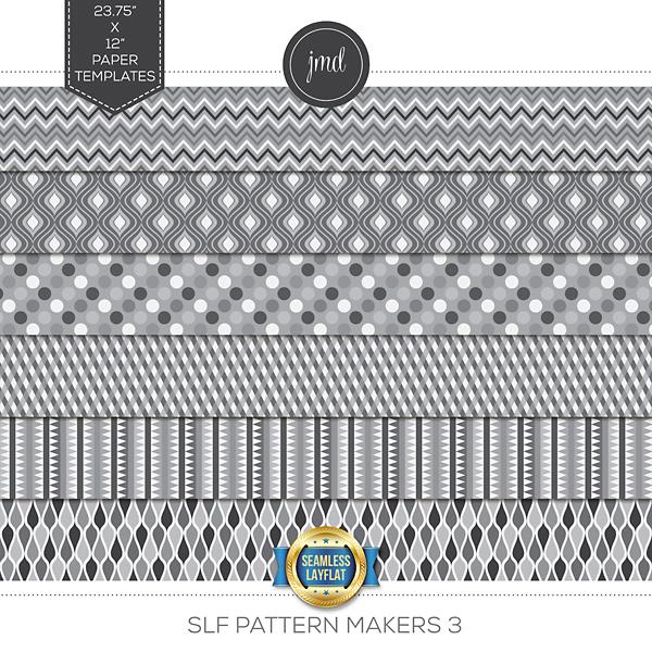 SLF Pattern Makers 3 Digital Art - Digital Scrapbooking Kits