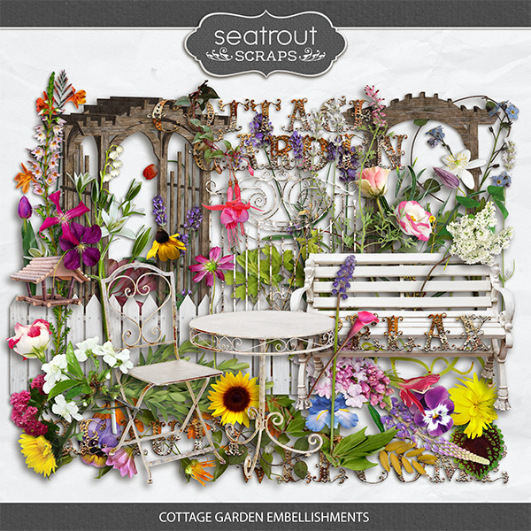 Cottage Garden Embellishments