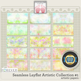Seamless Layflat Artistic Collection #1 Bundle