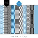 Fun Overlays 1 - 12x12