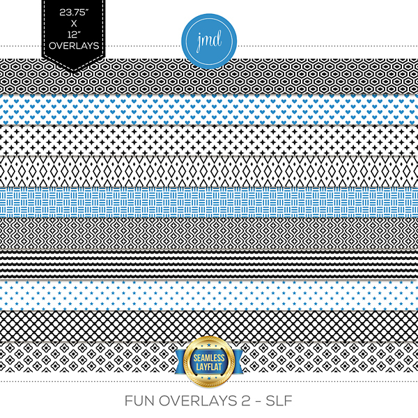 Fun Overlays 2 - SLF Digital Art - Digital Scrapbooking Kits
