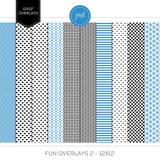 Fun Overlays 1-2 - 12x12 Bundle