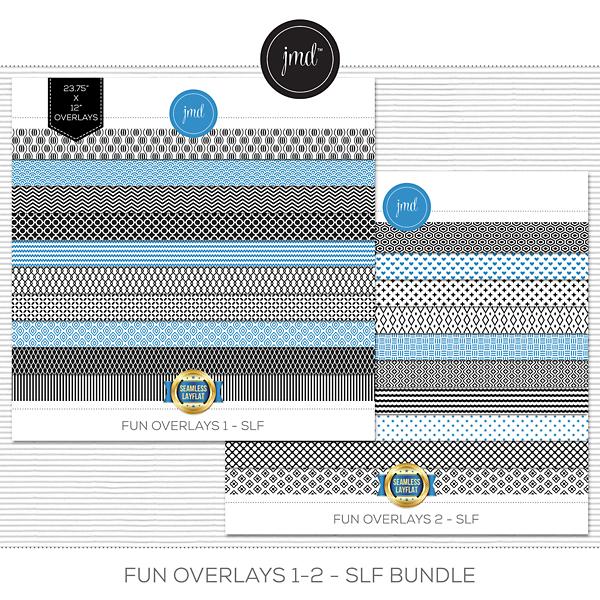 Fun Overlays 1-2 - SLF Bundle Digital Art - Digital Scrapbooking Kits