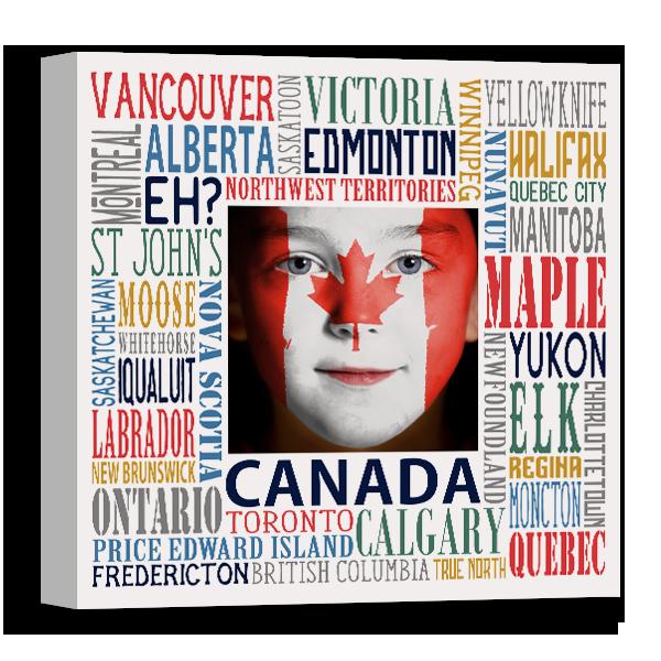 Canada Subway Canvas Canvas