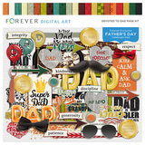 Devoted To Dad Page Kit