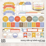 Sunny Side Up Labels And Tags