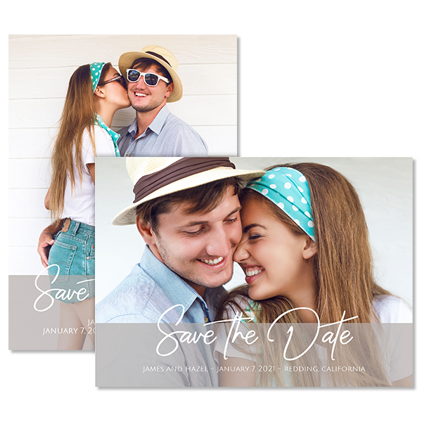 Always & Forever Save the Date Card Card