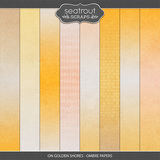 On Golden Shores - Ombre Papers