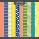 Ticket to ... The Aqua Park Patterned Papers