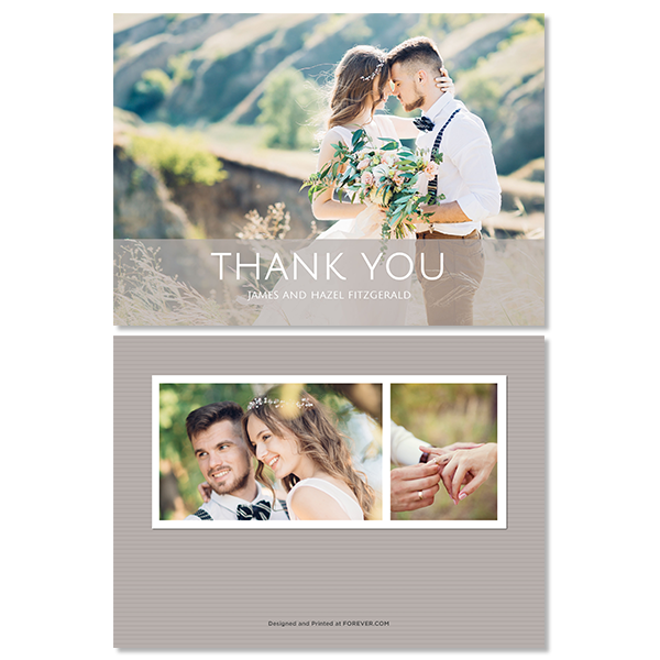 Always & Forever Thank You Card