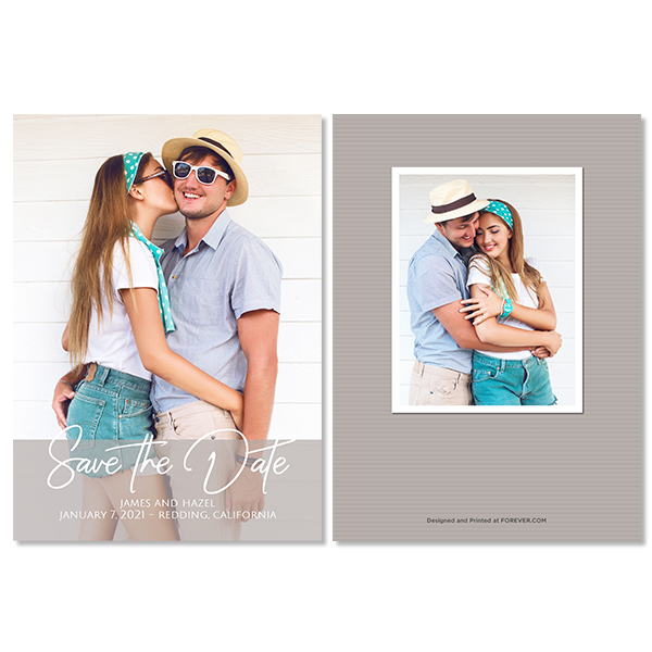 Always & Forever Save the Date Card