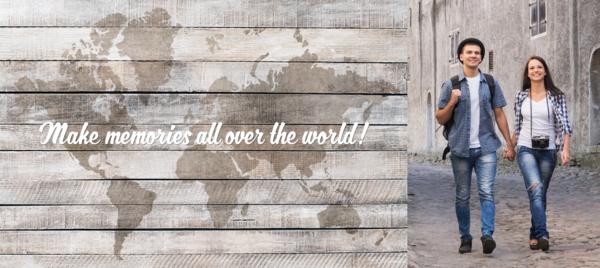 All Over the World with Photo Mug