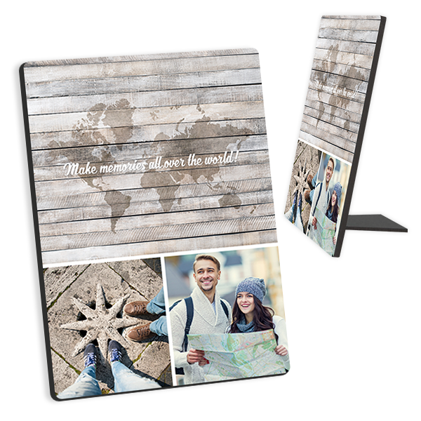 All Over the World with Photos Tabletop