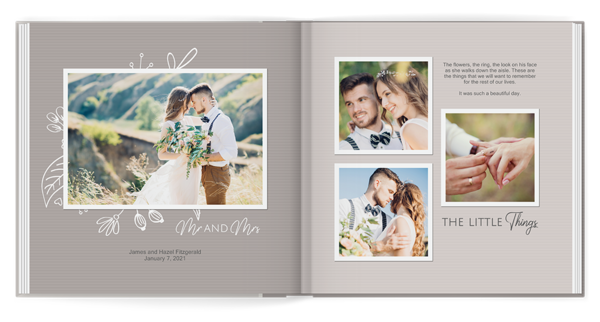 Always & Forever Book Photo Book